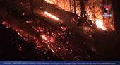 Cơ bản khống chế được đám cháy rừng tại khu vực núi Nầm Hà Tĩnh