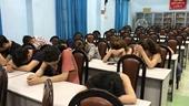 Gần 20 dân chơi dương tính với ma túy trong bar ở TP Hồ Chí Minh