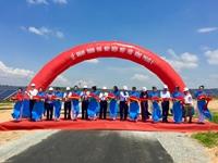 Khánh thành nhà máy điện mặt trời 55 triệu USD