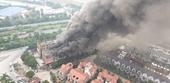 Cháy dữ dội dãy biệt thự thuộc Thiên đường Bảo Sơn