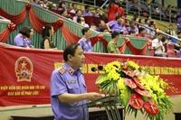 Khai mạc Giải thể thao ngành Kiểm sát nhân dân - Cúp Báo Bảo vệ pháp luật lần thứ IX