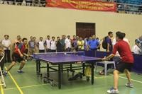 Giải thể thao Cúp Báo Bảo vệ pháp luật Kịch tính chung kết bóng bàn đơn nam, đơn nữ