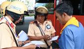 CSGT TP Hồ Chí Minh xử phạt 2 424 trường hợp vi phạm Luật giao thông