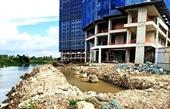 Chủ tịch tỉnh Bình Dương yêu cầu xử lý nghiêm dự án Marina Tower lấn rạch