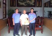 VKSND Ninh Giang gặp mặt cán bộ hưu trí nhân 59 năm ngày thành lập ngành KSND