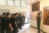 VKSQS Quân khu 4 dâng hương tri ân các Anh hùng liệt sỹ
