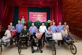 Đoàn công tác VKSND tối cao thăm và tặng quà Trung tâm điều dưỡng Thương Binh Thuận Thành
