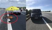 Đi bộ qua đường cao tốc, người đàn ông bị xe tông chết