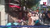 Kinh hoàng xem lại clip xe khách đâm hàng loạt xe máy ở Quảng Ninh