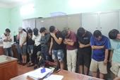 Hàng chục nam thanh nữ tú phê ma túy trong quán bar ở Đồng Nai