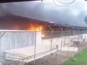 Băng đảng tội phạm đốt phá, tranh cướp địa bàn trong tù làm 52 người chết