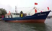 Tàu cá vỏ thép biển đẹp nhất Bình Định chìm ngoài khơi vùng biển Cam Ranh