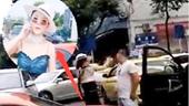 Ra tay đánh người trước, nữ tài xế xe Porsche bị tát nổ đom đóm mắt