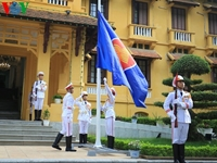 Việt Nam tổ chức Lễ thượng cờ nhân kỷ niệm 52 năm thành lập ASEAN