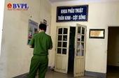 Đang làm rõ nghi vấn 4 phạm nhân nhập viện vì bị bức tường đổ sập