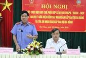 Sơ kết công tác phối hợp VKSND cấp cao và TAND cấp cao tại Đà nẵng