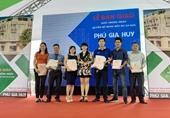 Phú Hồng Thịnh trao sổ hồng cho khách hàng tại dự án Phú Gia Huy