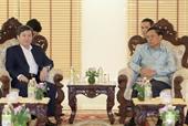 Viện trưởng VKSND tối cao Việt Nam Lê Minh Trí thăm và làm việc tại CHDCND Lào