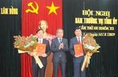 Ban Bí thư Trung ương Đảng chuẩn y nhân sự 2 địa phương
