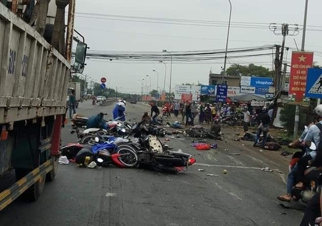 Truy tố tài xế lái container tông 4 người chết và 25 người bị thương đang dừng đèn đỏ
