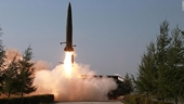 Triều Tiên ồ ạt nã tên lửa, tuyên bố đóng cửa toàn diện đối thoại với Hàn Quốc
