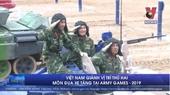 Việt Nam giành vị trí thứ hai tại Cuộc thi Xe tăng Army Games 2019