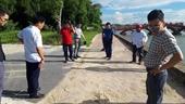 Công viên trung tâm TP Hà Tĩnh chưa bàn giao đã xuống cấp BQL và đơn vị thi công hứa sửa chữa, khắc phục