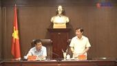 Đoàn giám sát của UBKT Trung ương làm việc với Ban cán sự đảng VKSND tối cao