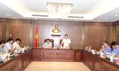 Đoàn giám sát của Ủy ban Kiểm tra Trung ương làm việc với Ban cán sự đảng VKSND tối cao