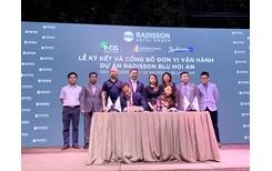 Bamboo Capital Group và Radisson Hotel Group hợp tác vận hành dự án Radisson Blu Hội An
