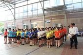 Giải bóng chuyền hơi Khối thi đua số 5 Công đoàn viên chức tỉnh Sơn La