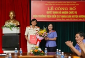 VKSND huyện Hương Sơn có tân Viện trưởng