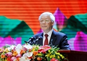 Nguyện kế tục trung thành và xuất sắc sự nghiệp vĩ đại của Chủ tịch Hồ Chí Minh