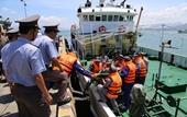 Điều khẩn cấp tàu kiểm ngư cứu nạn 74 thuyền viên bị sự cố do bão số 4