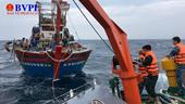 Bộ đội Biên phòng Nghệ An vượt gió bão cứu nạn 16 thuyền viên trên biển
