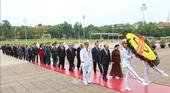 Lãnh đạo Đảng, Nhà nước tưởng nhớ Chủ tịch Hồ Chí Minh