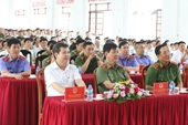Viện trưởng VKSNDTC Lê Minh Trí thăm và làm việc tại Trại giam Long Hòa