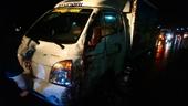 Xe tải tông trực diện xe máy, 2 dì cháu tử vong thương tâm