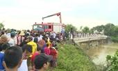 Tài xế taxi mất tích sau khi lao xuống sông Cầu Chày