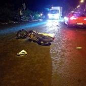 Xe máy đâm nhau kinh hoàng, 2 người tử vong tại chỗ, 2 người bị thương nặng