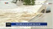 Hà Tĩnh mưa lớn, thủy điện Hố Hô xả lũ