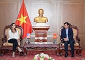 Lãnh đạo VKSND tối cao tiếp đại diện Đại sứ quán Hoa Kỳ tại Việt Nam