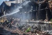 Nhận định ban đầu nguyên nhân cháy nhà xưởng Công ty Rạng Đông
