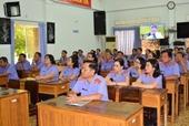 VKSND tỉnh Tây Ninh sinh hoạt chuyên đề 50 năm thực hiện di chúc của Bác