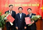Bộ Ngoại giao bổ nhiệm 2 Tổng Lãnh sự Việt Nam ở nước ngoài