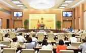 Cho ý kiến về Báo cáo sơ kết 5 năm triển khai thi hành Hiến pháp
