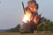 Triều Tiên công bố ảnh độc pháo phóng loạt siêu to mới đúng ngày 11 9