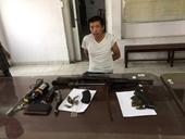Nam thanh niên nhặt được súng K56 và 29 viên đạn mang đi bán gặp ngay Công an