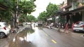 Thành phố Thái Nguyên Khắc phục hậu quả sau mưa bão