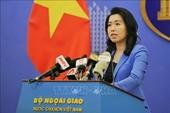 Việt Nam bác bỏ những nội dung sai sự thật trong báo cáo của Ủy ban Bảo vệ Ký giả